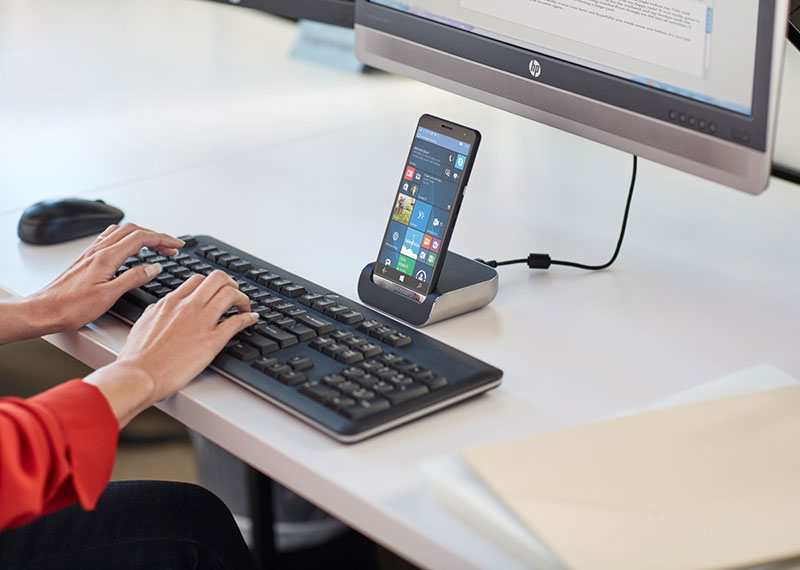 HP приписывают намерение выпустить очередной смартфон с ОС Windows 10 Mobile