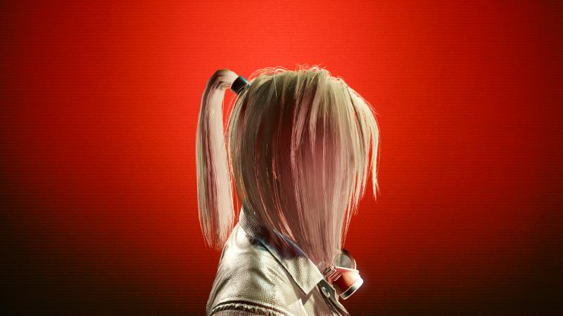 Platinum Blonde (1 цвет прически в Save Editor)