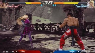 Gamestop Expo 2016: Tekken 7 - Геймплей - Rip vs. Kane