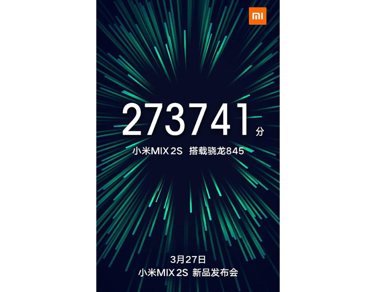 Всеть утек снимок экрана Xiaomi MiMIX 2S