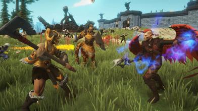 """Многопользовательский гибрид стратегии и ролевой игры Crowfall получил обновление """"Прихоти войны"""""""