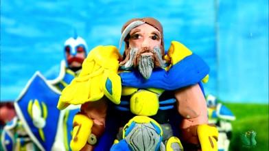 Warcraft - очищение стратхольма. Пародия (пластилиновая анимация)