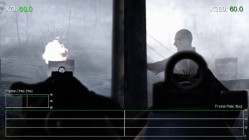 Call of Duty: World at War - Xbox One vs Xbox 360 Частота кадров (DigitalFoundry)