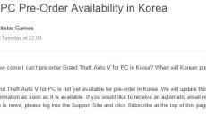 В Корее так же проблемы с предзаказом.
