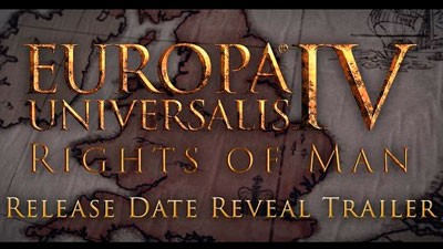 Europa Universalis IV - Дата выхода дополнения Rights of Man
