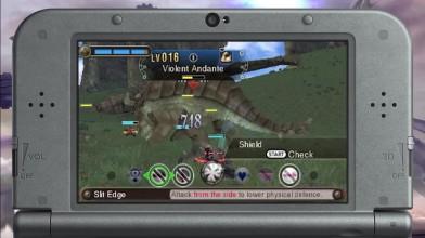 Видео сражения в Xenoblade Chronicles 3D
