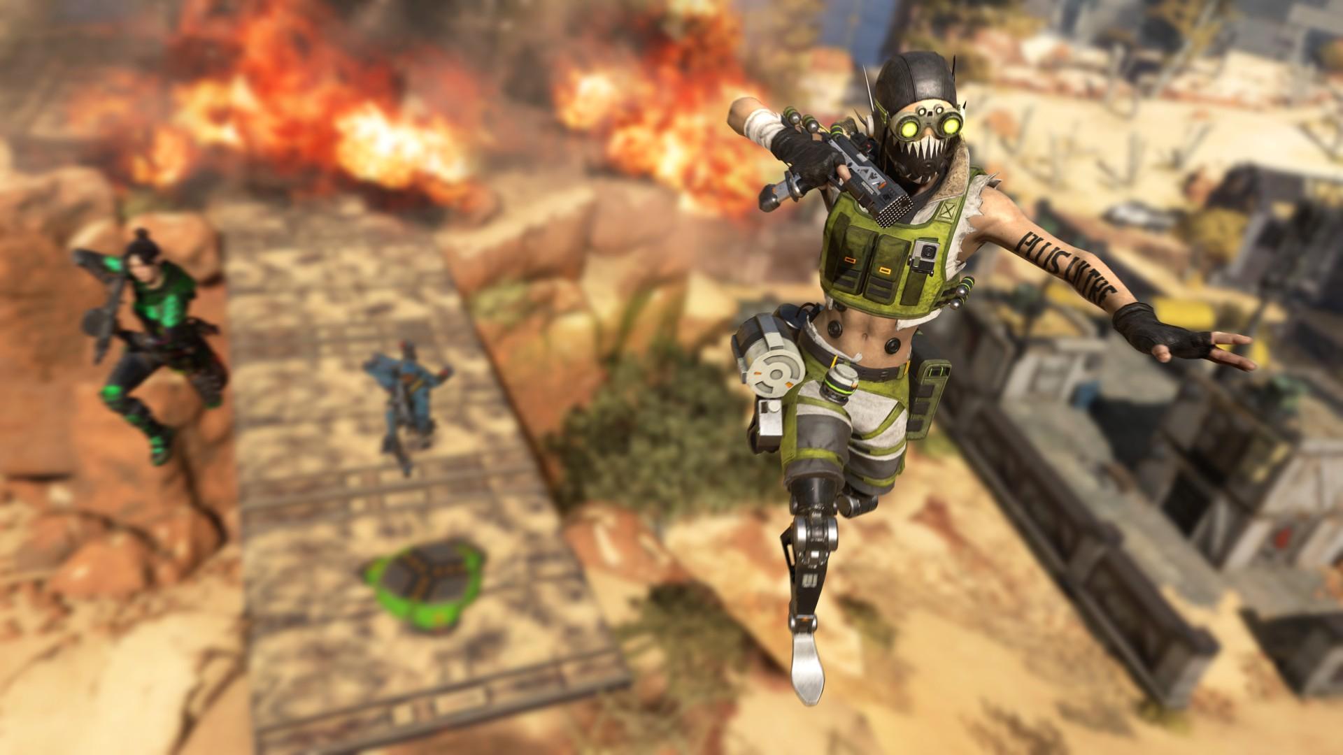Игроки в Apex Legends нашли баг, позволяющий летать
