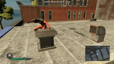 "Amazing Spider-Man 2 ""Живая статуэтка"""