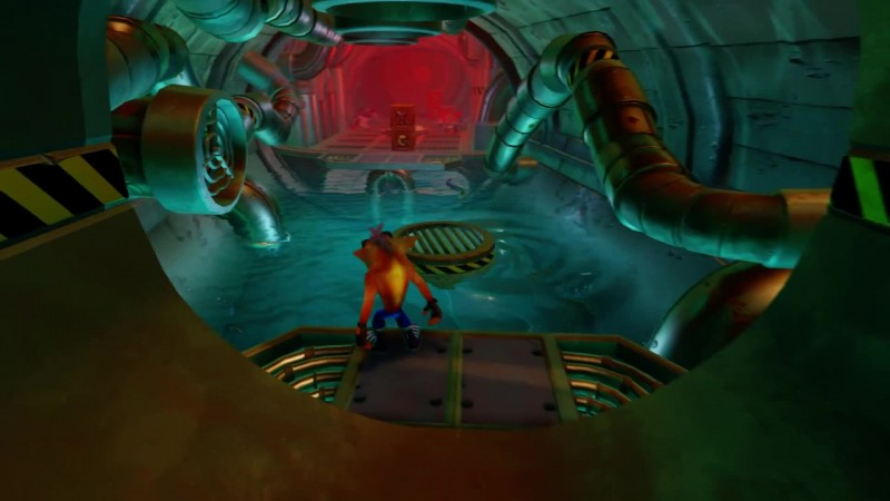 Геймплей Crash Bandicoot N. Sane Trilogy - уровень Sewer Or Later