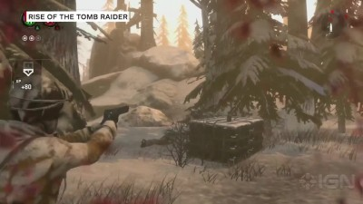 Геймплей Rise of the Tomb Raider на PlayStation 4