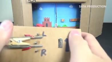 Фанат собрал картонную версию игры Paper Mario