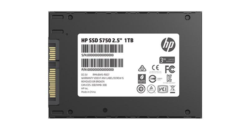 HP полагает, что твердотельные накопители типоразмера 2,5 дюйма с интерфейсом SATA все еще востребованы