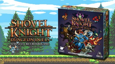Стартовала Kickstarter-кампания на настольную игру Shovel Knight: Dungeon Duels