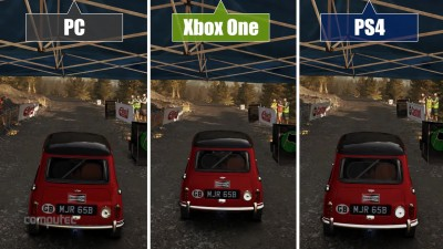 "Dirt Rally ""Сравнение PC vs. PS4 vs. Xbox One"""