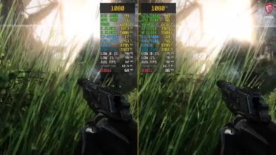 Сравнение частоты кадров - Crysis 3 GTX 1080 vs. GTX 1080 Ti (Потянет ли это Crysis?) [wolfgang]