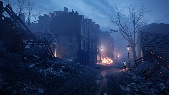 Графика Battlefield 1