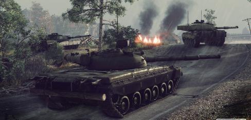Техника 8 уровня на ЗБТ Armored Warfare