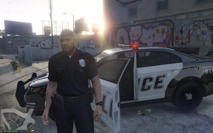 """GTA 5 """"Police Mod / Полицейская модификация"""""""