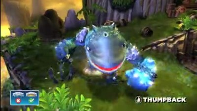 "Skylanders Giants - ""Thumpback Vignette Trailer"""