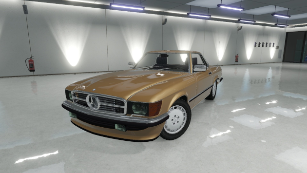 Mercedes-Benz 350 SL Roadster