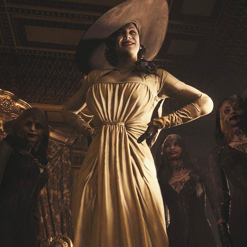 Игроки нашли модель, внешность которой могли использовать при создании Леди Димитреску