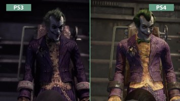 Batman Return to Arkham Arkham Asylum - Сравнение графики PS3 vs. PS4 (Candyland)