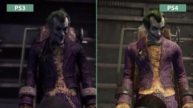 Batman Return to Arkham Arkham Asylum - Сравнение графики PS3 vs. PS4 (Candyland)