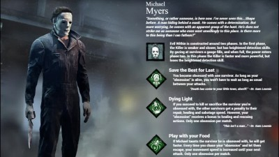 Dead By Daylight Halloween DLC!