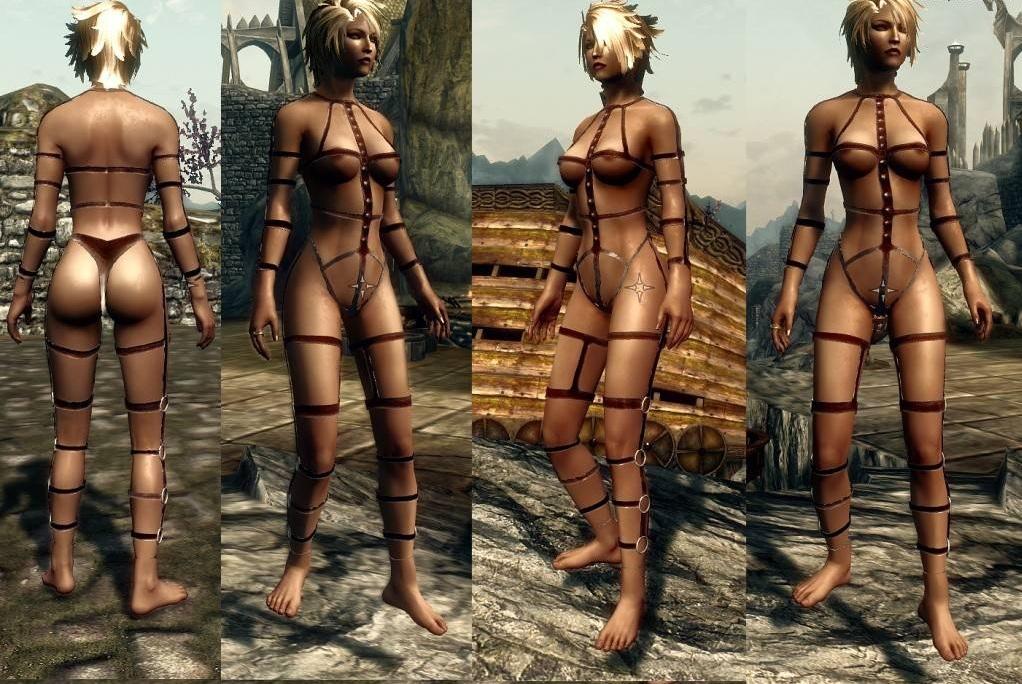 Skyrim броня сексуальный наряд
