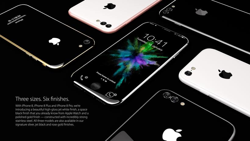 IPhone 8 «обернут» дисплеем — Утечка