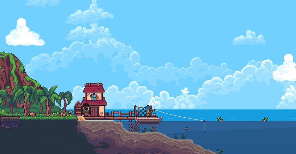Ролевая игра Seablip, в стиле Stardew Valley, плывет в Steam