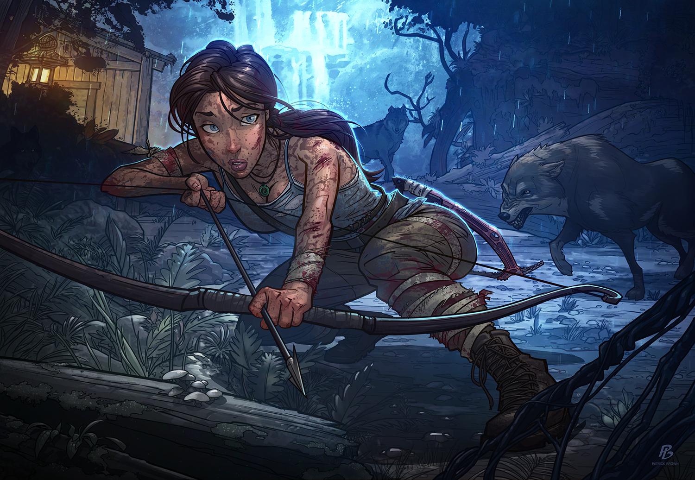 Картинки из рисованных игр