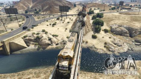 Improved freight train 3.8 для GTA 5