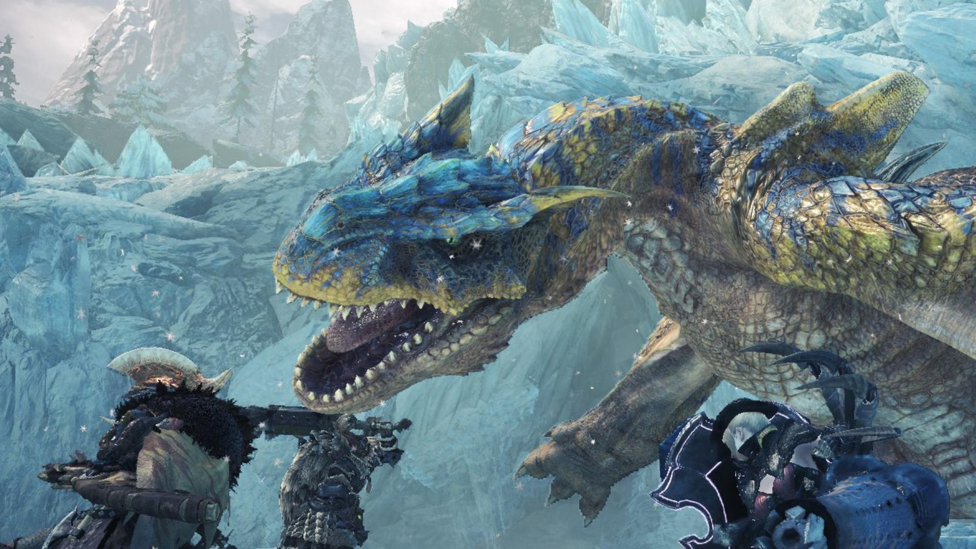 Новое обновление Monster Hunter World еще больше повышает производительность и снижает нагрузку на процессор