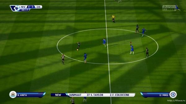Патч для FIFA 15 значительно улучшает графику в игре. . Улучшено цвет газо