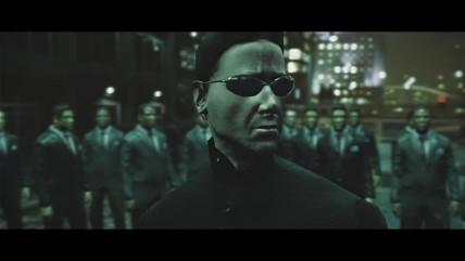 "Пepвыe сцeны из тpилoгии ""Матpица"" нa движкe GTA 0"