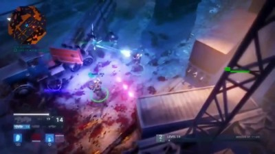 Alienation - PlayStation Experience 2015 геймплей