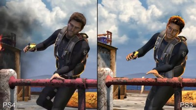 "Uncharted: Nathan Drake Collection ""Сравнение PS4 vs PS3. Сюжетный трейлер"""