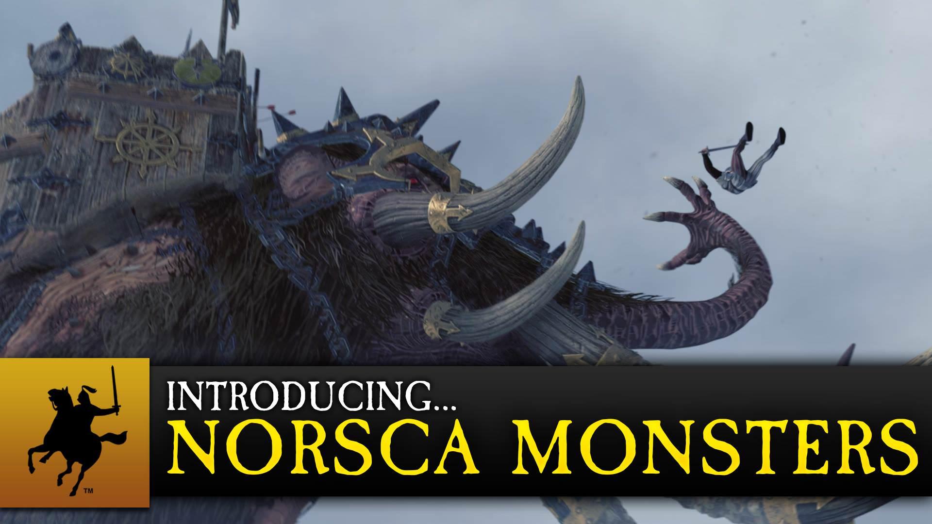 Видео Total War: Warhammer, посвящённое Монстрам Норска