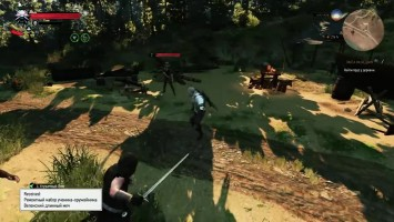 "Witcher 3: Wild Hunt ""Roll-in Attack (атака в броске) v1.3"