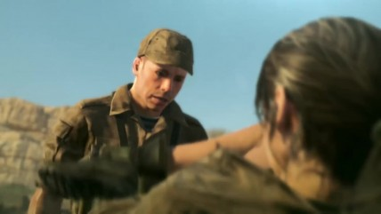 Сцена насилия над Quiet - Metal Gear Solid 0: The Phantom Pain (MGSV)