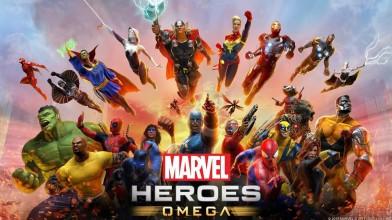 Началось ОБТ Marvel Heroes: Omega на PS4