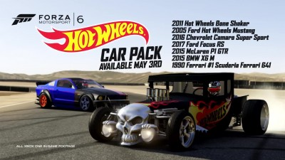 "Forza Motorsport 6 ""Трейлер Hot Wheels Car Pack"""