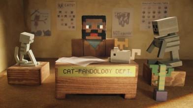 Кинематографический трейлер обновления для Minecraft