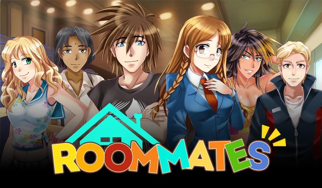 Видео игрового процесса визуальной новеллы Roommates