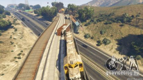 Railroad Engineer 3 для GTA 5