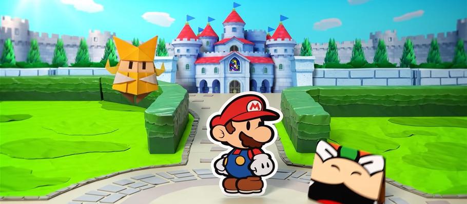 Западный рекламный ролик Paper Mario: The Origami King