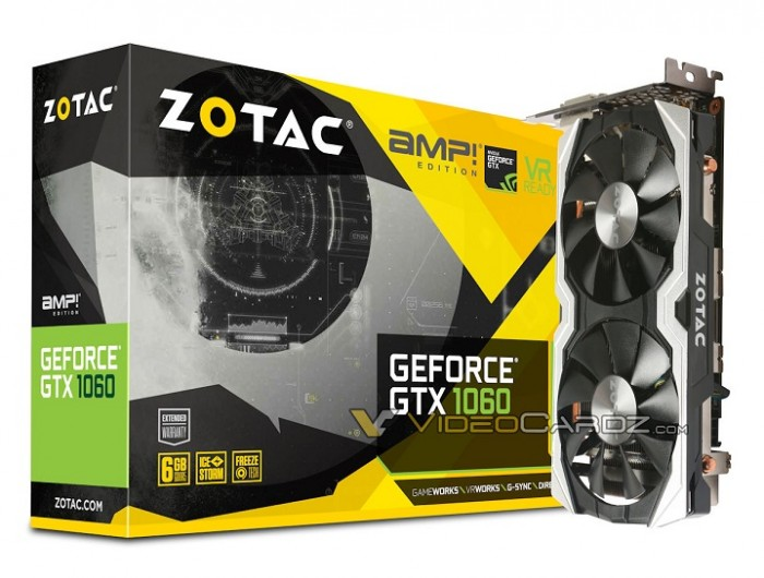 Zotac GeForce GTX 1060 AMP