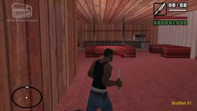 """GTA: SA """"Все спрятаные интрерьеры в игре"""""""