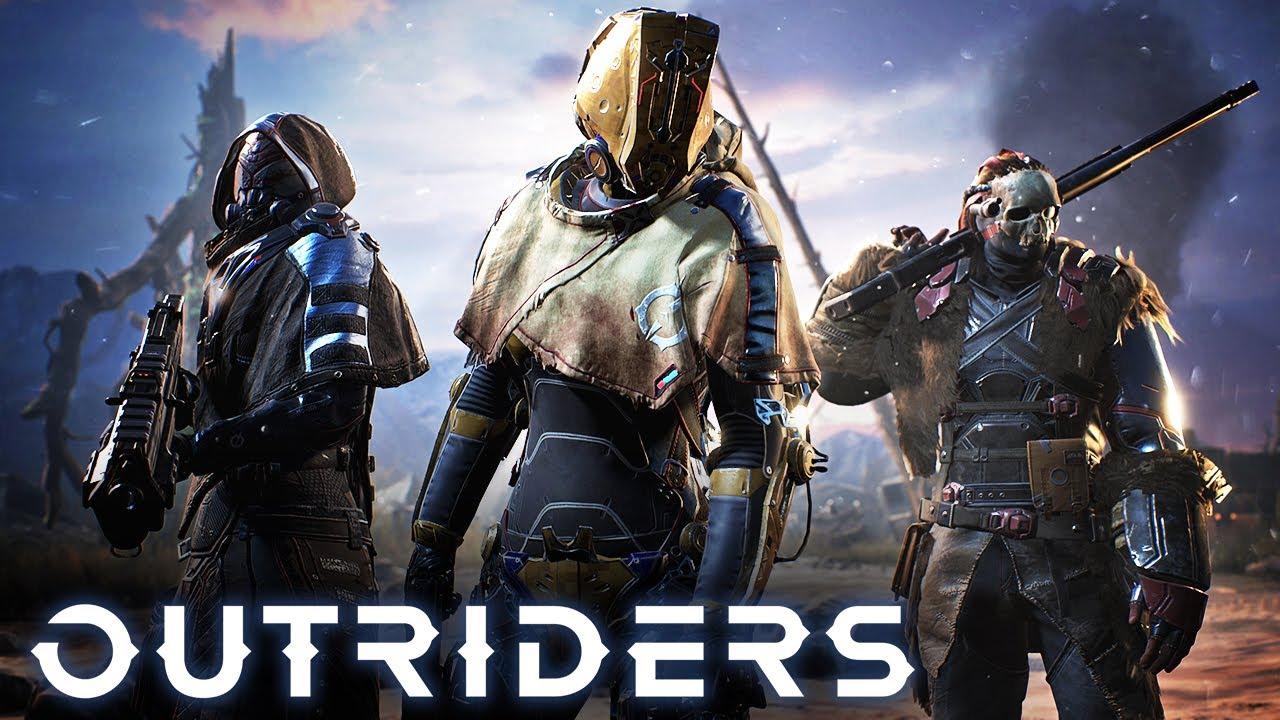 Новые геймплейные ролики Outriders